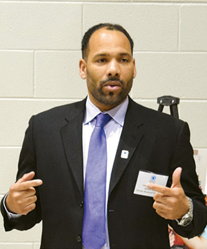 Childhood league blog image of Leonard Scott our new chair of board of directors talking